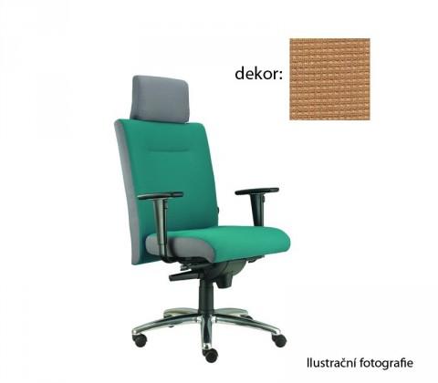 kancelářská židle Asidum s područkami a podhlavníkem, synchro P (pola 556, sk.4)