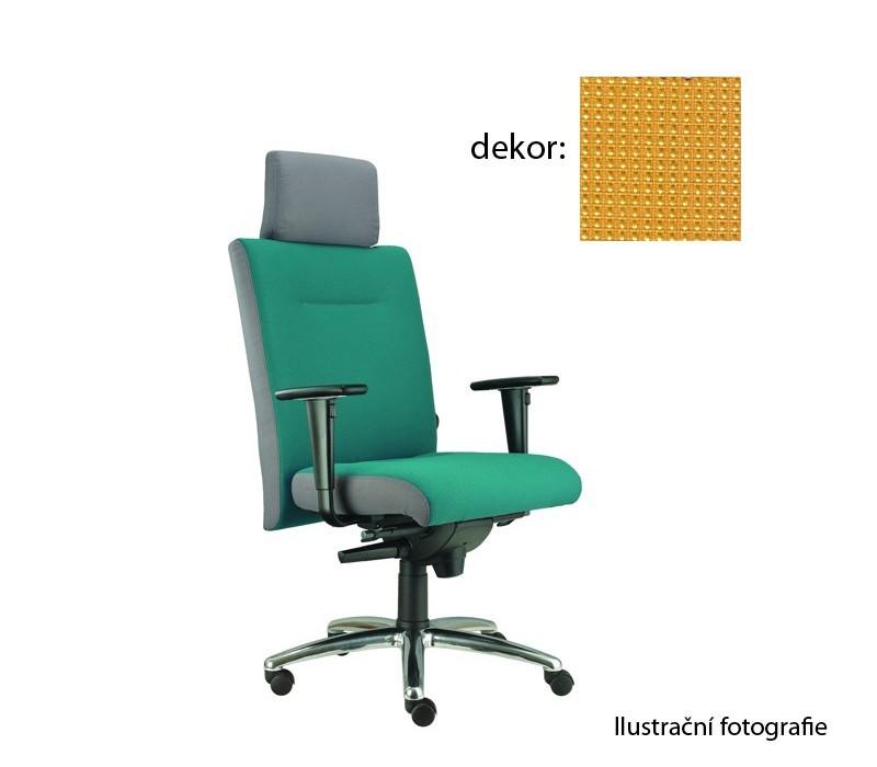 kancelářská židle Asidum s područkami a podhlavníkem, synchro P (pola 88, sk.4)