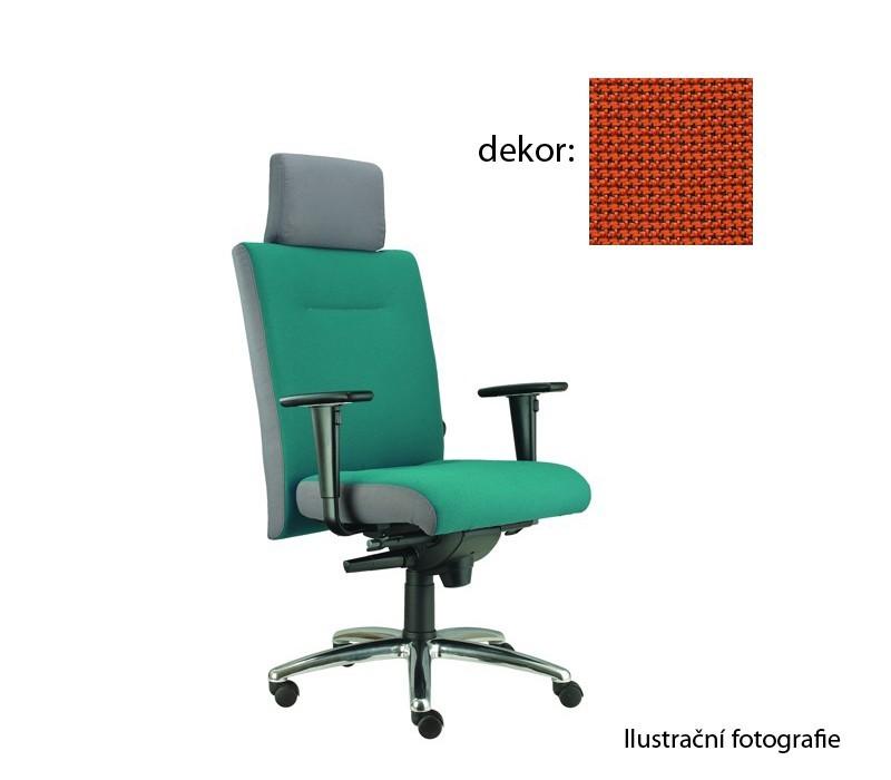 kancelářská židle Asidum s područkami a podhlavníkem, synchro P (rotex 2, sk.2)