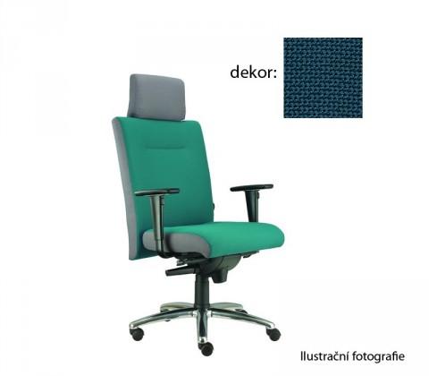 kancelářská židle Asidum s područkami a podhlavníkem, synchro P (rotex 5, sk.2)