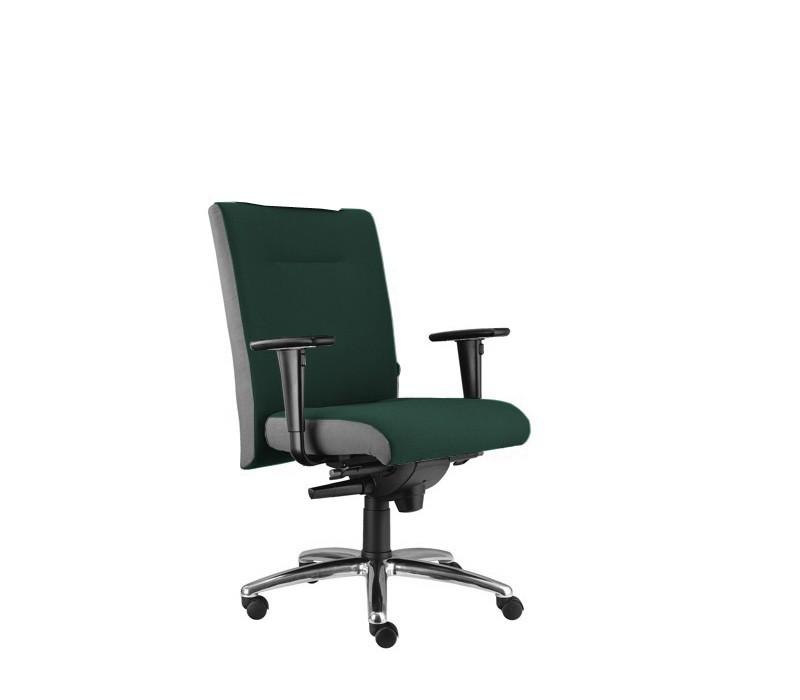 kancelářská židle Asidum s područkami, synchro P (alcatraz 12, sk.3)