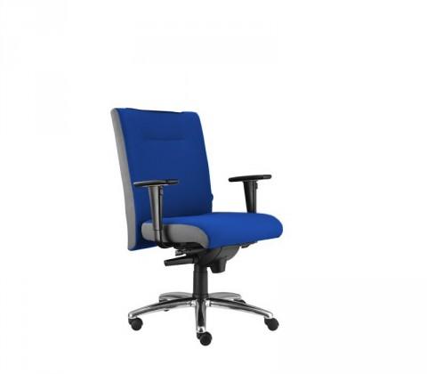 kancelářská židle Asidum s područkami, synchro P (alcatraz 22, sk.3)