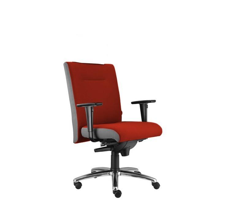 kancelářská židle Asidum s područkami, synchro P (alcatraz 845, sk.3)
