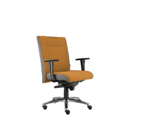 kancelářská židle Asidum s područkami, synchro P (alcatraz 847, sk.3)