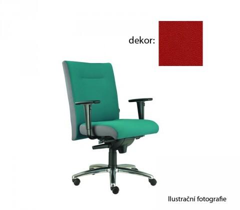 kancelářská židle Asidum s područkami, synchro P (koženka 14, sk.3)