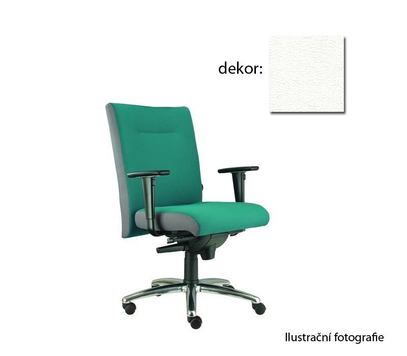 kancelářská židle Asidum s područkami, synchro P (koženka 51, sk.3)