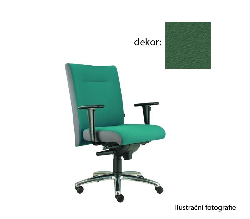kancelářská židle Asidum s područkami, synchro P (kůže 161, sk.5)