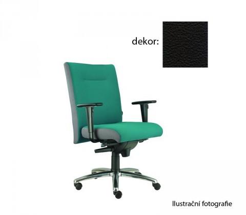 kancelářská židle Asidum s područkami, synchro P (kůže 176, sk.5)