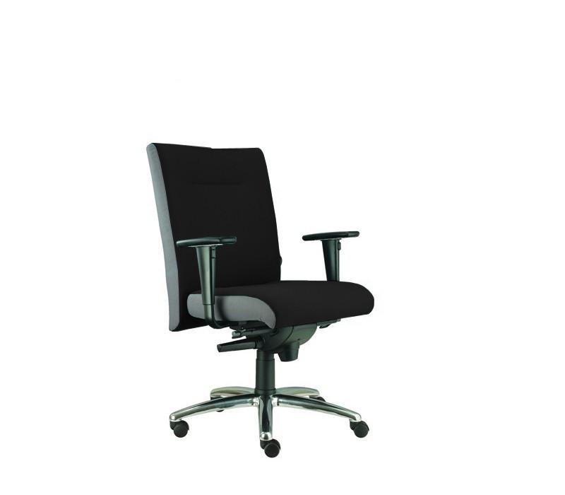 kancelářská židle Asidum s područkami, synchro P (suedine 1, sk.1)