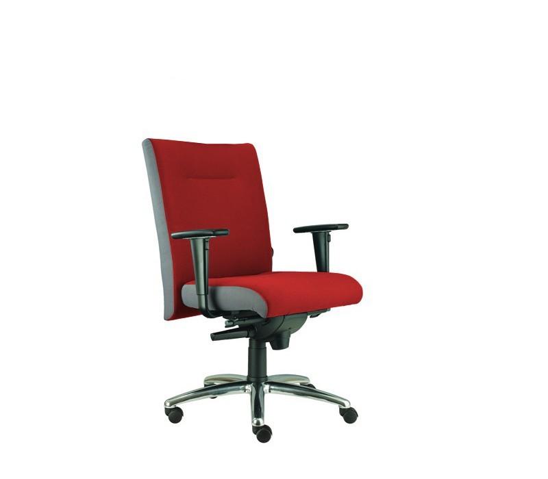 kancelářská židle Asidum s područkami, synchro P (suedine 2, sk.1)