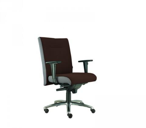 kancelářská židle Asidum s područkami, synchro P (suedine 21, sk.1)
