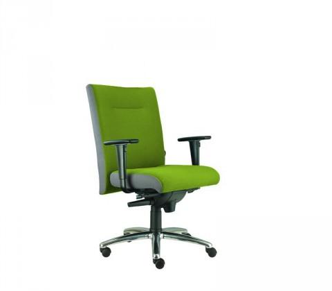 kancelářská židle Asidum s područkami, synchro P (suedine 34, sk.1)