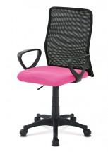 Kancelářská židle Beata růžová