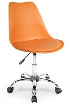 kancelářská židle Coco (oranžová)