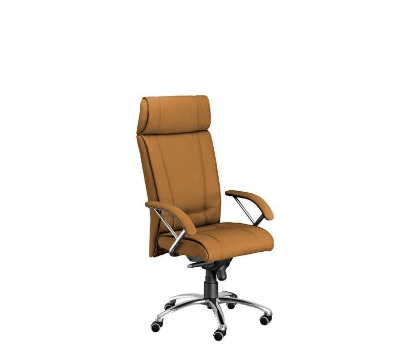 kancelářská židle Demos Boss - Kancelářská židle s područkami (alcatraz 847)