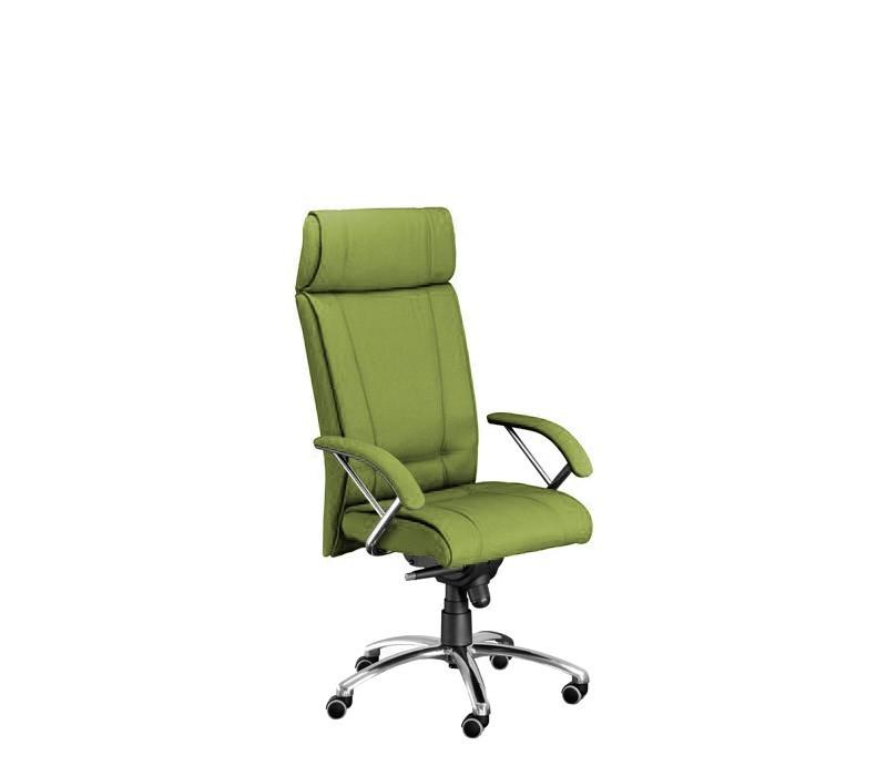 kancelářská židle Demos Boss - Kancelářská židle s područkami (alcatraz 848)