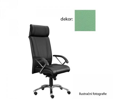 kancelářská židle Demos Boss - Kancelářská židle s područkami (koženka 89)