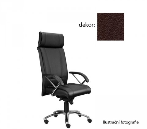 kancelářská židle Demos Boss - Kancelářská židle s područkami (kůže 177)