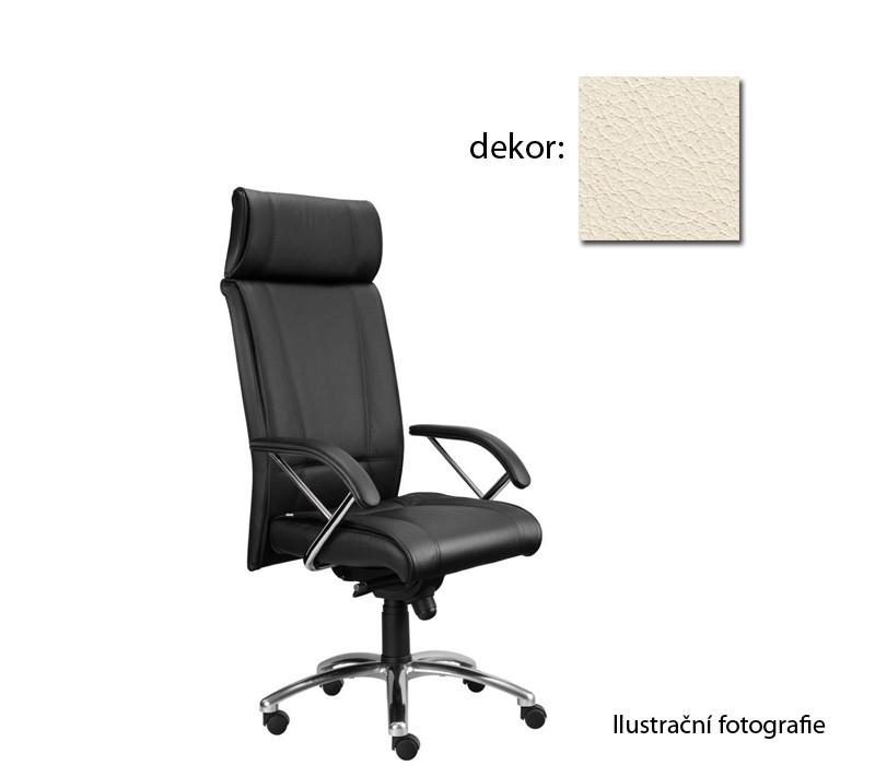 kancelářská židle Demos Boss - Kancelářská židle s područkami (kůže 300)