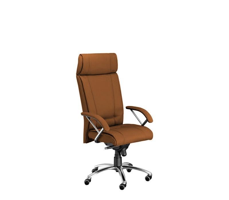 kancelářská židle Demos Boss - Kancelářská židle s područkami (suedine 11)