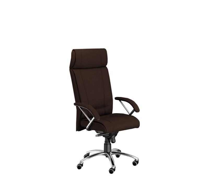 kancelářská židle Demos Boss - Kancelářská židle s područkami (suedine 21)