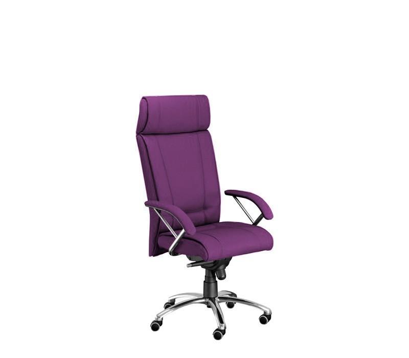 kancelářská židle Demos Boss - Kancelářská židle s područkami (suedine 22)