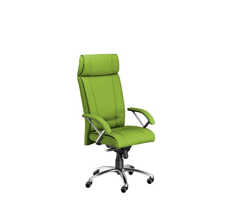 kancelářská židle Demos Boss - Kancelářská židle s područkami (suedine 34)