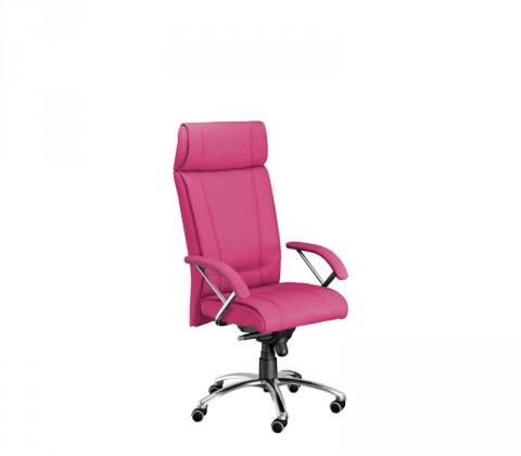 kancelářská židle Demos Boss - Kancelářská židle s područkami (suedine 41)