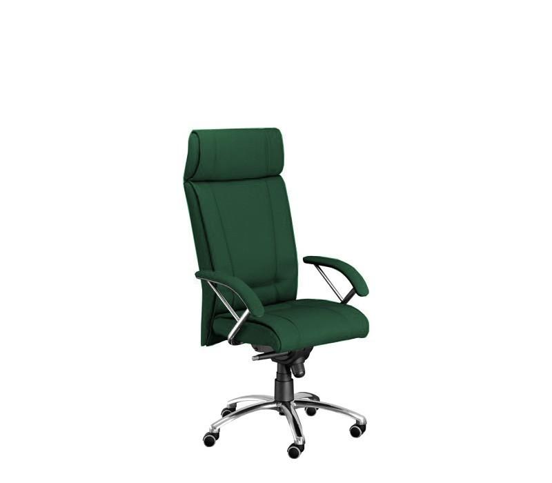 kancelářská židle Demos Boss - Kancelářská židle s područkami (suedine 59)
