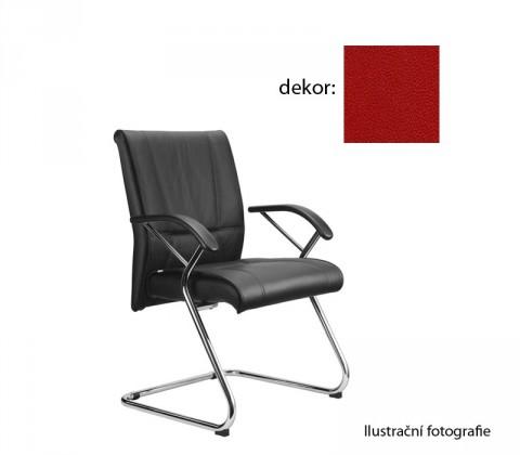 kancelářská židle Demos Medios - Kancelářská židle s područkami (koženka 14)