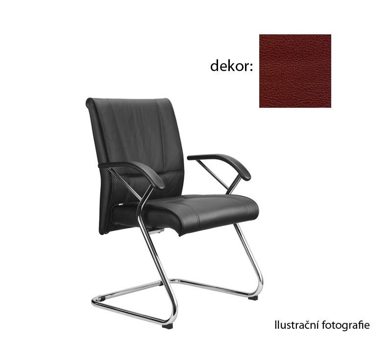 kancelářská židle Demos Medios - Kancelářská židle s područkami (koženka 85)