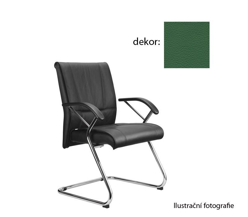 kancelářská židle Demos Medios - Kancelářská židle s područkami (kůže 161)