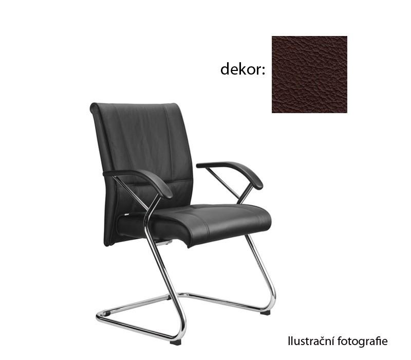 kancelářská židle Demos Medios - Kancelářská židle s područkami (kůže 177)