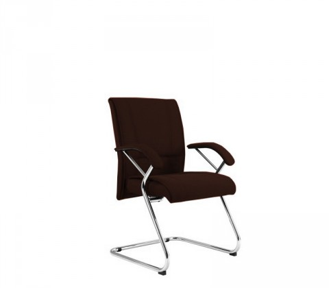 kancelářská židle Demos Medios - Kancelářská židle s područkami (suedine 21)