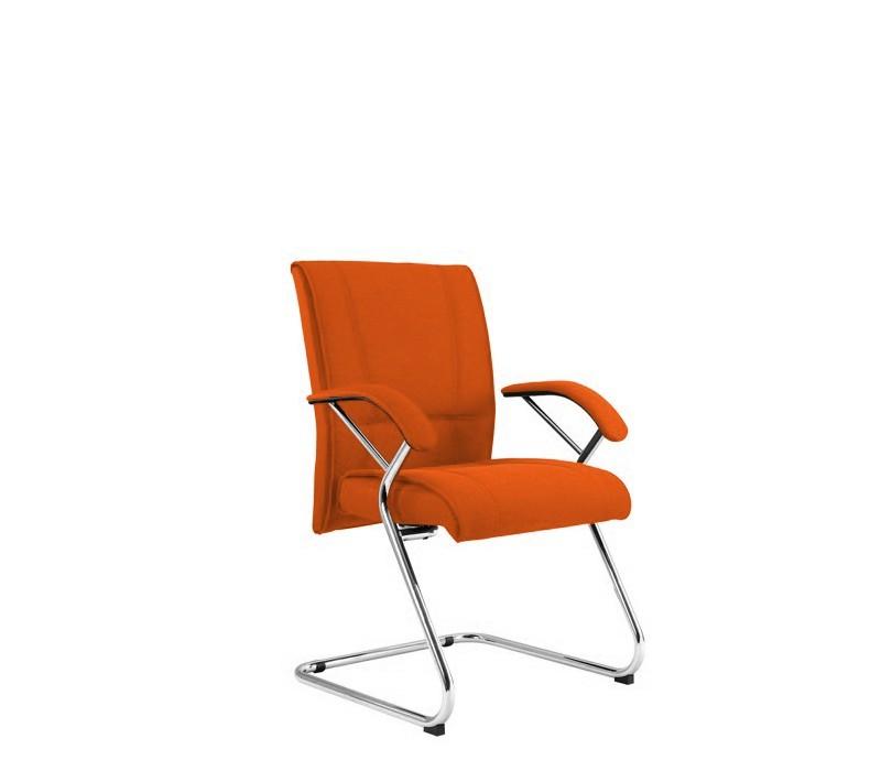 kancelářská židle Demos Medios - Kancelářská židle s područkami (suedine 46)
