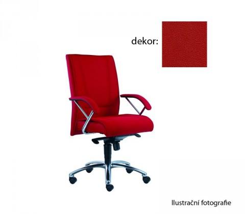 kancelářská židle Demos Prof - Kancelářská židle s područkami (koženka 14)