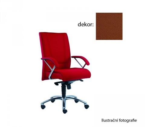 kancelářská židle Demos Prof - Kancelářská židle s područkami (koženka 40)