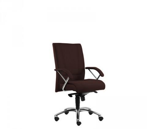 kancelářská židle Demos Prof - Kancelářská židle s područkami (suedine 21)