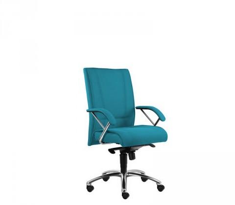 kancelářská židle Demos Prof - Kancelářská židle s područkami (suedine 65)