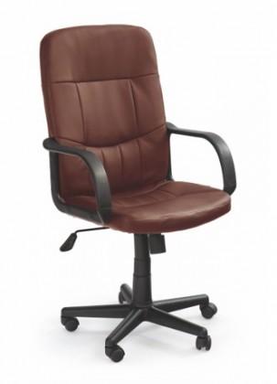 kancelářská židle Denzel - Kancelářské křeslo (tmavě hnědá)