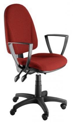 kancelářská židle Dona - s područkami P20 (potah - syntetická kůže)