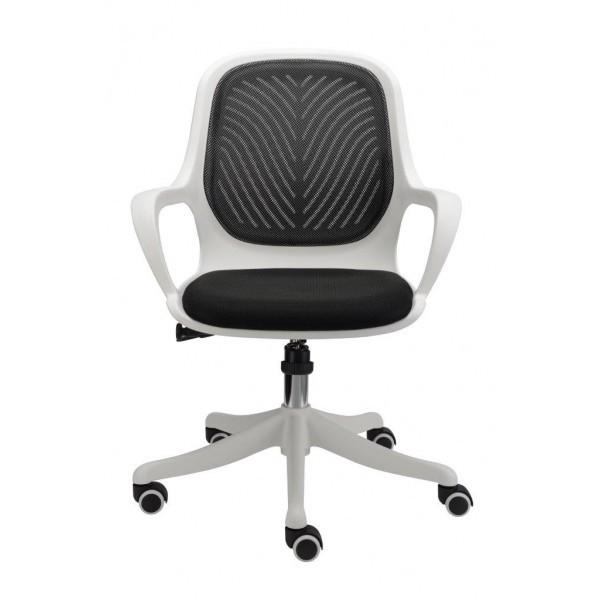 kancelářská židle Egg (černá)