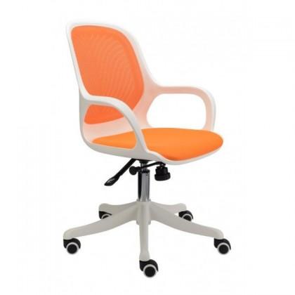 kancelářská židle Egg (oranžová)
