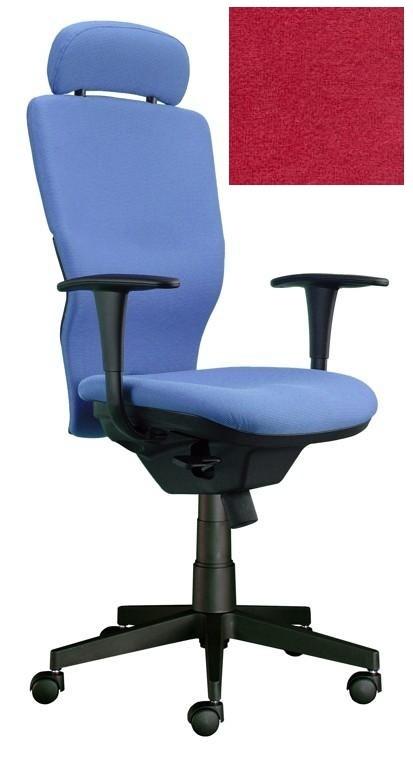 kancelářská židle Ema šéf (Suedine 2, červená)