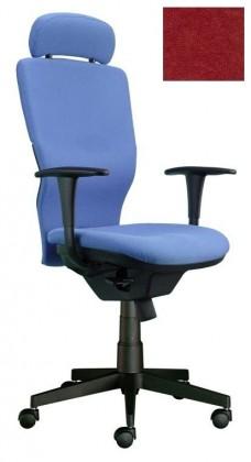kancelářská židle Ema šéf (Suedine 29, vínová)