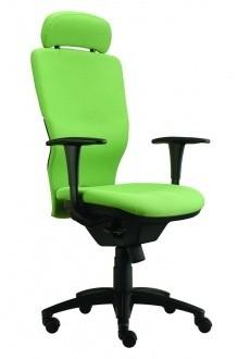 kancelářská židle Ema šéf (Suedine 34, svítivě zelená)