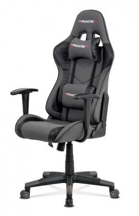kancelářská židle Herní židle Crash šedá