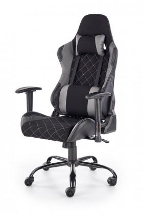 kancelářská židle Herní židle Lets Play černá, šedá