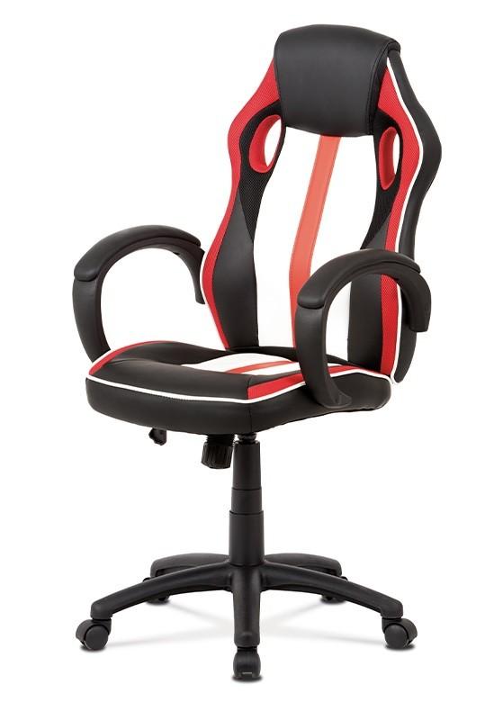 kancelářská židle Herní židle Quest červená