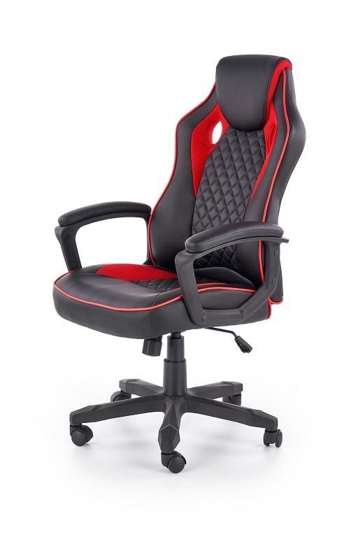 kancelářská židle Herní židle Thrasher černá, červená